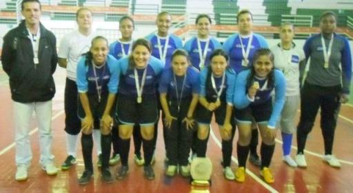 Notícia  destaque   Esporte   Futsal feminino de Lavras foi o grande  destaque dos Jogos de Minas em Campo Belo - Jornal de Lavras ac2a297199568