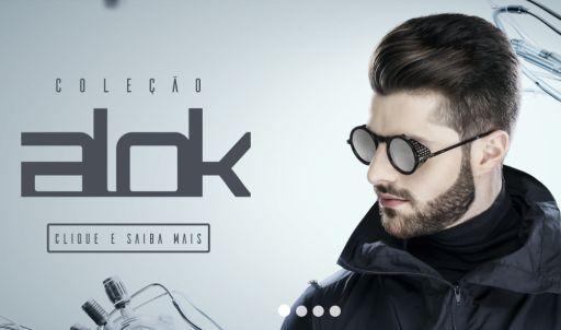 a708a9ca2805e A coleção Alok está de volta na Chilli Beans e, desta vez, o DJ assina uma  linha de óculos de sol e de grau inspirada no universo biônico, ...