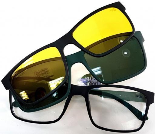 Óculos de grau + óculos de sol com lentes polarizadas ou lentes night  driver (para dirigir a noite) b26660922a